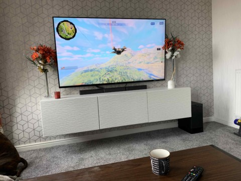 TV Mounted in Cheshire